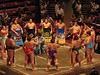 2005: Tokyo - Sumo : A day at the Grand Sumo tournament, which lasts for ten days.